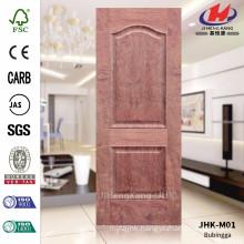 JHK-M01 Outside Clean Design Big Size Popular Europen CARB Economic Bubinga Livingrom Door Sheet