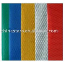 Tissu fluorescent à haute visibilité 100% polyester mesh