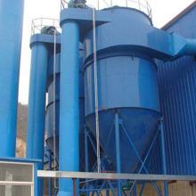 Cyclone dust remover in flour mill