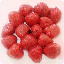 Fruits en conserve Tarte aux fraises au sirop