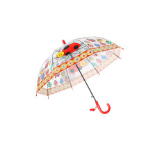 Transparent Children Poe Umbrella for Gift Use/Auto Open Straight Umbrella