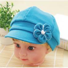 Baby Plain Dyed Flower Baseball Hat