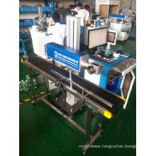 on Line CO2 Laser Marking Machine Cosmetic Bottle