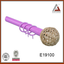 E19100High calidad bajo precio decorativos cortina rod