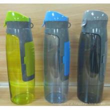 Garrafa de água Tritan livre BPA com espaço para bolsa