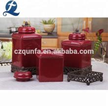 Einzigartige China Großhandel Kaffee Tee Küche Keramik Kanister Sets