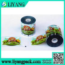 Projeto do cliente, filme de transferência de calor para o recipiente de alimento