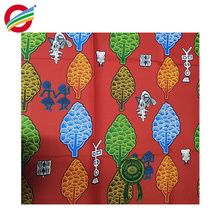 Le tissu africain pur de polyester d'élégance de Pure imprime le tissu tissé à vendre
