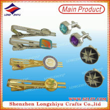 Professional Factory Made Wholesale Metal Tie Pin Set Cufflinks