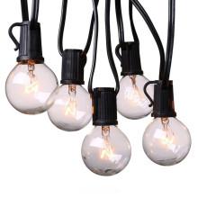 Globe Patio Light String с лампами накаливания G40