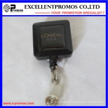 Promotional Plastic Reel Retractors with Metal Clip (EP-BH112-118)