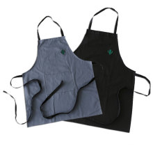 work embroidered work apron with logo