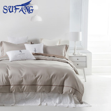 conjunto de cama de algodão branco barato Duvet Cover textile