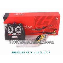 Helicóptero infravermelho do brinquedo da liga 3 ch