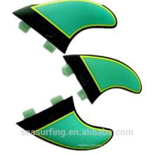 G5 set thruster honebycomb light color fins carbon fins