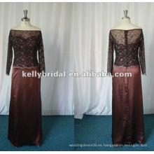 Elegante madre de los vestidos de encaje de novia M01