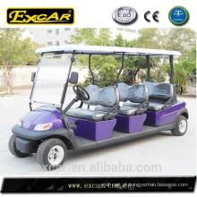 Ônibus Sightseeing elétrico de 6 seater mini para a venda