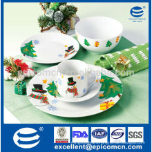 fiestaware homeware porcelain with decorative Christmas