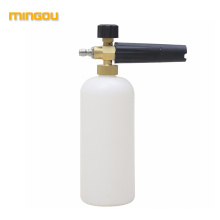 China supplier foam lance pressure washer multifunction detergent soap bottle foam cannon replacement bottle