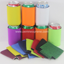 Blank cooler premium neoprene 12oz can cooler sleeves