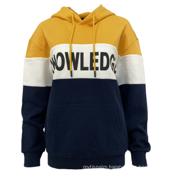 SS2021 Women's knitted best sell long sleeve bright color  hoody