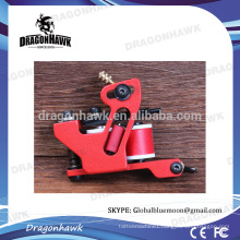 Dragonhawk Handmade Iron Tattoo Machine Liner Machine Red Color