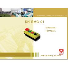 Controle caixa de manutenção do gabinete para elevador (SN-EMG-01)