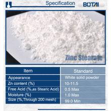 aditivos plásticos lubricantes de la aplicación de polvo de estearato de zinc