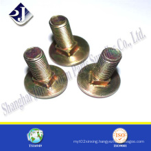 Main Product Yellow Zinc Finished Carriage Bolt