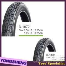 Черный воздух шины 2.75-17 с популярным рисунком