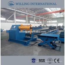 steel coil uncoiler machine; steel coil decoiler machine