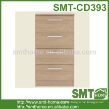 Economical wood simple chest of drawer KD cabinet design furniture