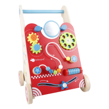 New kids educational toys wooden Active learning baby walker