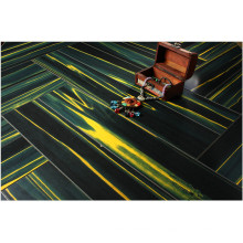 Commercial 12.3mm Mirror Teak Water Resistant Laminated Floor