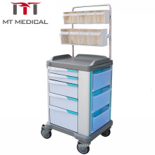 High Quality hot sellin ABS Hospital Furniture  Anesthesia Crash  Trolley