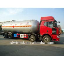 Jiefang 8x4 Q345R 34.5cbm gás propano caminhão, lpg camião-cisterna