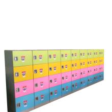 YS Locker Four Doors Stainless Steel Dress ABS Plastic Locker Cabinet