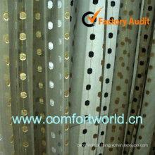 2013 novo Design turca cortina feita de 75% poliéster 25% Viscoce com bordado