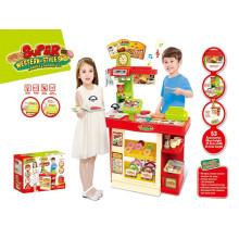 Super-estilo ocidental loja de cozinha brinquedos de controle remoto set