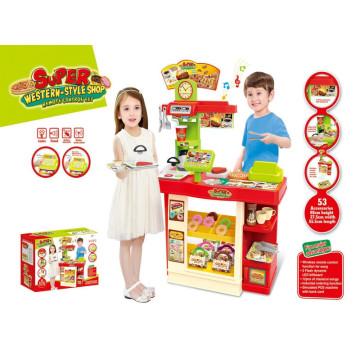 Super Western-Style Shop Kitchen Toys-Remote Control Set