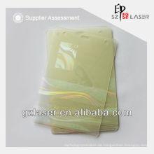 Holographische Auflage für PVC-ID-Karte