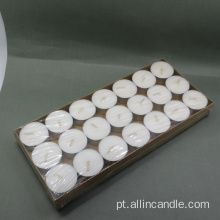 Barato 100pcs Poly Bag Branco Tealight Vela