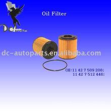 Inserção do Filtro de Lubrificante 11 42 7 509 208 Para Mini