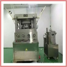 Máquina para prensagem de comprimidos grandes para balas e comprimidos efervescentes