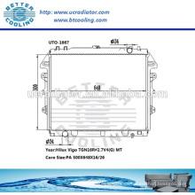 Auto Kühler / Kühler für Toyota Hilux Vigo TGN16R 2.7V4 OEM: 16400-0C200 / 16400-0C180