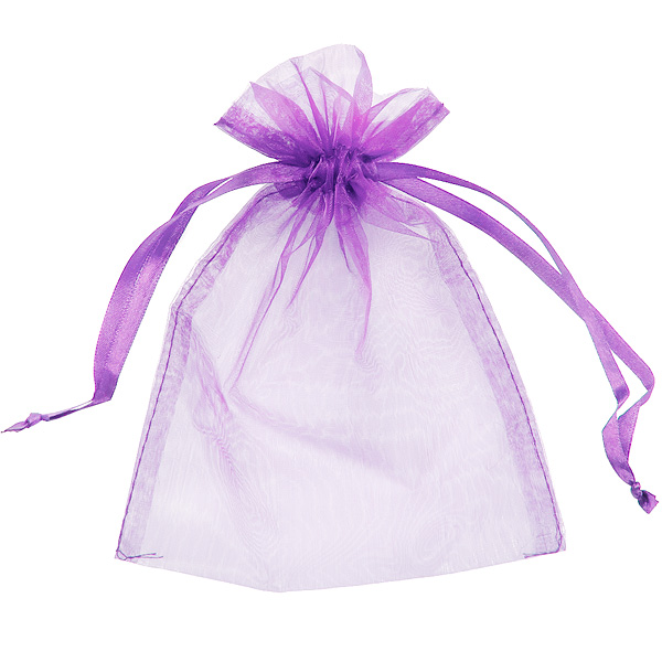 organza small jewelry bag