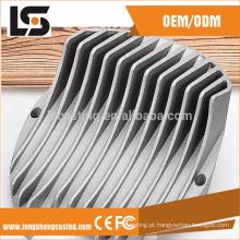 Caixa de lâmpada led de alumínio com economia de energia quente