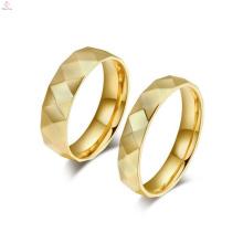 Изготовленный на заказ кольца золотые ювелирные украшения,любители, соответствующий его и ее обещание кольца белого золота ювелирные изделия