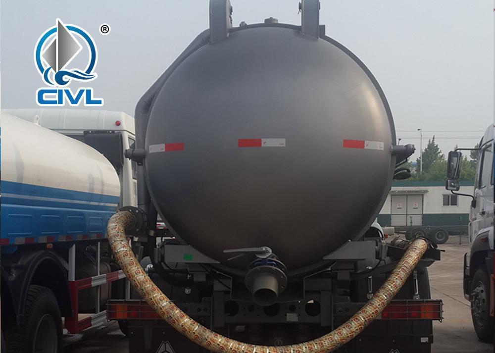 Sewage Suction Truck 17