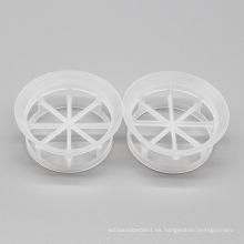 Mini anillo plástico de la cascada, embalaje plástico de la torre